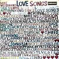 "CD Cover ""Love Songs"""