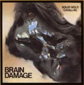 "CD Cover ""Brain Damage"""
