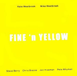 "CD Cover ""Fine 'n Yellow"""